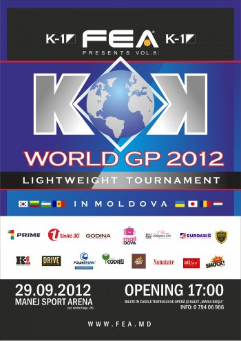 """FEA PRESENTS Vol.8 KOK WORLD GP 2012 LIGHTWEIGHT TOURNAMENT"""