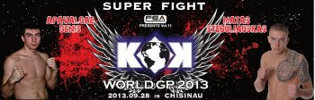 FEA presents Vol.11 KOK WORLD GP 2013 Middleweight Tournament in CHISINAU.