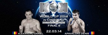 FEA Presents Vol.13 KOK WORLD GP 2014 in CHISINAU Middleweight Tournament 22.03.2014