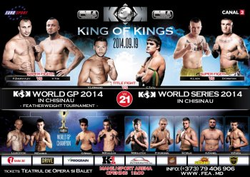 FEA Presents  KOK WORLD GP 2014 in CHISINAU Vol.21