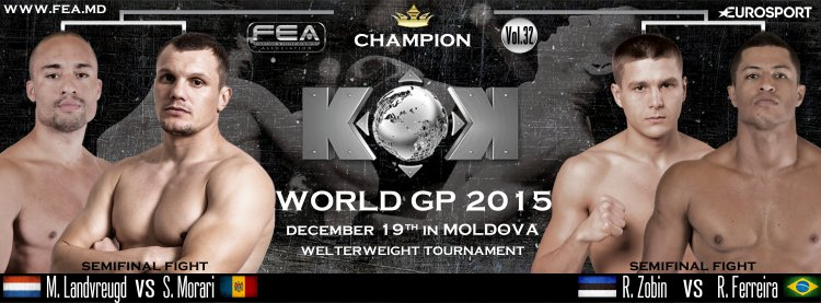 KOK WGP 2015 Welterweight Tournament EAGLES SERIES in Moldova 19/12/15/