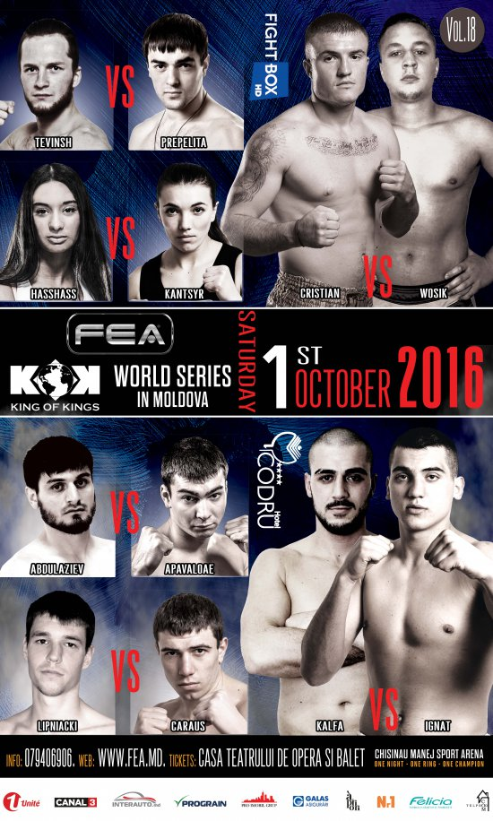FEA presents  KOK WORLD GP 01.10.16