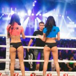Ring girls of the KOK WGP 2016 Vol.42