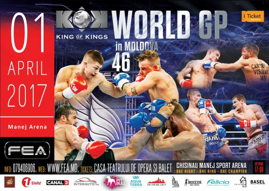 KOK WORLD GP 46, April 1-st 2017 in MOLDOVA.