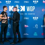 Press conference and official weigh in KOK 46 WORLD GP in MOLDOVA Part 2