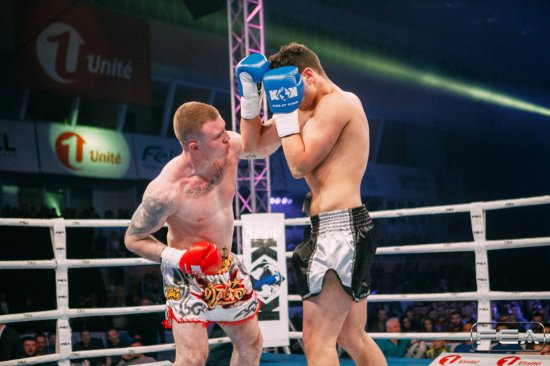 Cristian Dorel vs Amine Doudou. KOK World GP on 1st of April 2017.
