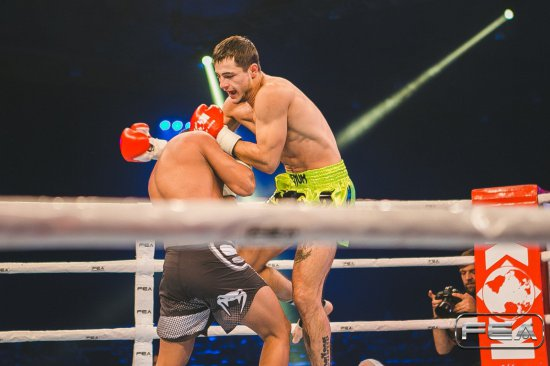 Full fight. (Romania) Andrei Balici vs Victor Apostol (Moldova). Super Fight, -74 kg. KOK vol 48.