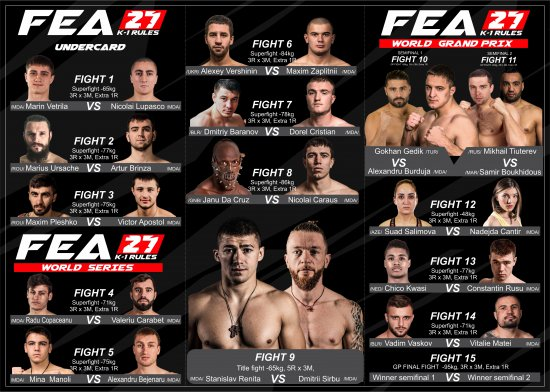 FEA 27. December 8th. Live on FEAFIGHTS.TV