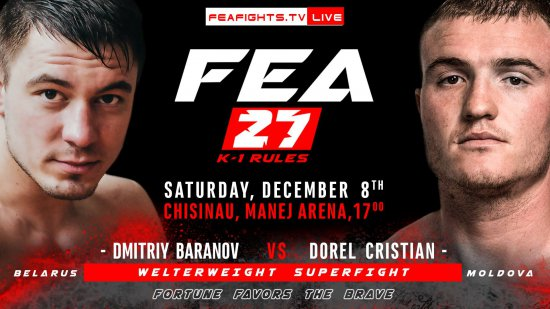 FEA vol.27. December 8th. 2018. Chisinau
