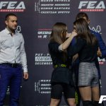 Face off and weigh in FEA WGP 7 dec 2019