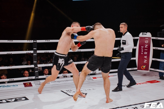Mihajlo Kecojevic vs Asdren Gashi.Final fight Heavyweight tournament FEA kickboxing 7.12.2019